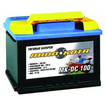 Ak 100 350x350 - Аккумулятор MINN KOTA DC 100 (глуб. разрядки, 100 а/ч, MK-SCS100 )