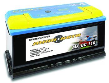 Ak 110 350x267 - Аккумулятор MINN KOTA DC 110 (глуб. разрядки, 110 а/ч, MK-SCS110 )