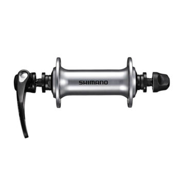 EHBRS300AAS 350x350 - Втулка передн. Shimano, RS300, 36 отв, QR 133мм, серебр.