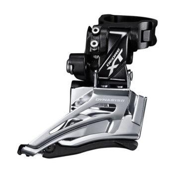IFDM8025HTX6 350x350 - Перек-ль передний Shimano XT, M8025-H, для 2x11, верхн. хомут, верхн. тяга
