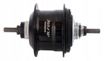 ISGS700111BL 350x205 - Втулка планетарная Shimano SG-S7001, 11ск, Alfine, под C. Lock, 32 отв., 135x187мм, цв. Черный
